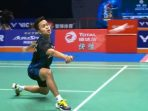 Hasil final China Open 2018. Anthony Ginting vs Momota, skor akhir 23-21 dan 21-19